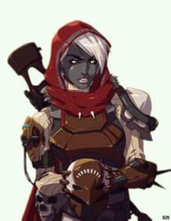 Destiny: Durandal Project - Vah'Radi by PinkComma