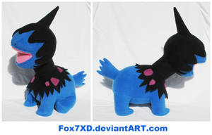Deino Plush by Fox7XD