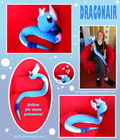 Dragonair Plush by Fox7XD