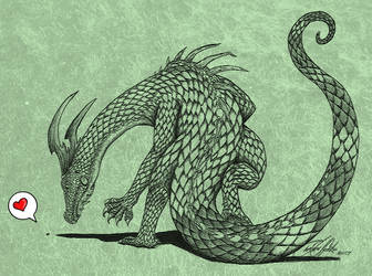 Iguana Drake by Fox7XD