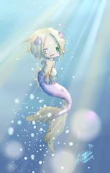 Pretty Mermaid Poland by Hetalia