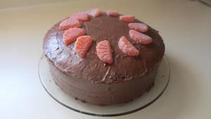 Chocolate Orange Cake by changetheFATES