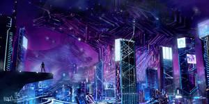 Cyberpunk by mbanshee