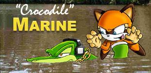 Crocodile Marine by JEMCIV