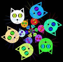 Cat circles by n-0-n-a