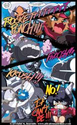 Pokey and Hokey vs ROCKET PUNCH!!! by Randommode