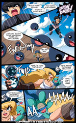 The Pirate Madeline Page 21: Wanna play rough? by Randommode