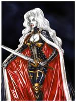 Lady Death by yacermino