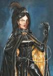 Black mistress by yacermino