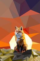 Vector fox by SomberAid