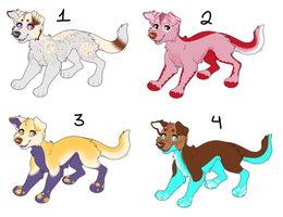 OTA Dog Adopts (OPEN) by 18Gingasoldier