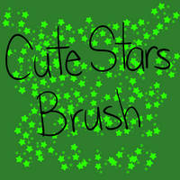 Cute Stars Brush by 18Gingasoldier