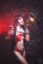 Vampirella cosplay by shproton