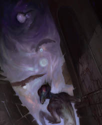 space mantis by Mi-nami