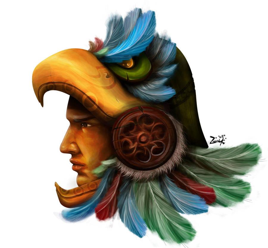 Guerrero Azteca By Zanedrak On Deviantart