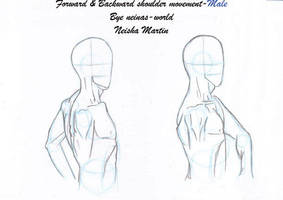 Shoulder and arm movement-male by Neinas-World