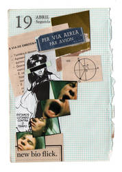 Diary Page Collage - 06 by DigitalSkeleton