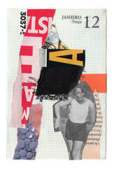 Diary Collage Page 09 by DigitalSkeleton