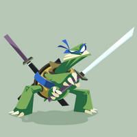 TMNT Leonardo by ugoyak