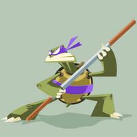 TMNT Donatello by ugoyak