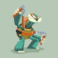TMNT Michelangelo by ugoyak