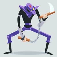 TMNT Foot Clan Ninja by ugoyak
