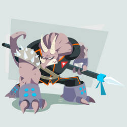 TMNT Triceraton by ugoyak