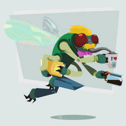 TMNT Dr. Baxter Stockman by ugoyak
