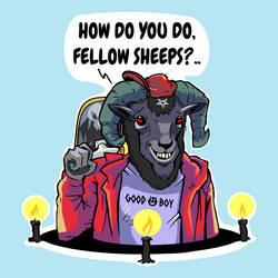 How Do You Do, Fellow Sheeps? by ugoyak
