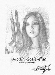 alodia Gosiengfiao by luishadowx