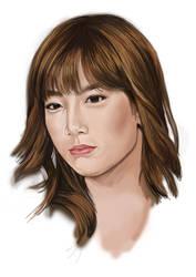 kim taeyeon snsd by luishadowx