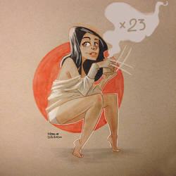 X 23 by FrancineDelgado