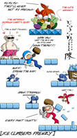 Ice Climbers: Points Glutton by indiochink