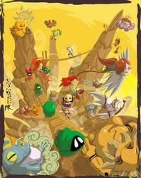 Legend of Zelda:Mountain Theme by indiochink