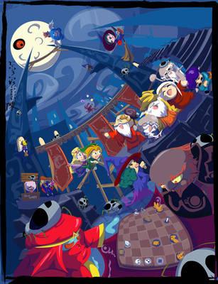 Legend of Zelda:Dungeon Theme by indiochink