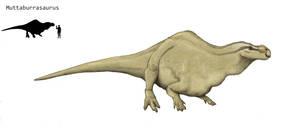 Muttaburrasaurus by Hyrotrioskjan