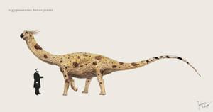 Aegyptosaurus by Hyrotrioskjan