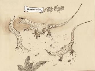 Dryadissector- just varanoid or draconiform? by Hyrotrioskjan