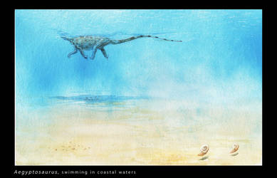 Swimming in dangerous waters by Hyrotrioskjan