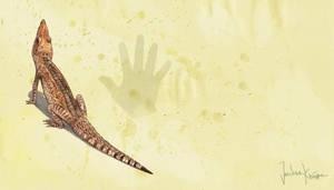 Theriosuchus sp. mating call by Hyrotrioskjan