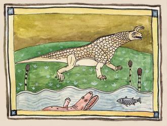 The beast of Shringa by Hyrotrioskjan
