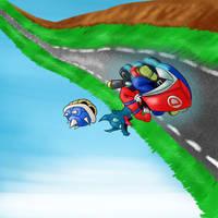 Thumbnail - Mario Kart 8 by Dragonfunk7