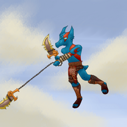 Thumbnail - God of War 2 by Dragonfunk7