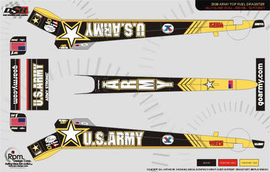 2008 Army Dragster by RpmIndy