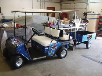 Miller Lite Golf Cart by RpmIndy