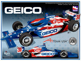 Al Unser Jr 2006 Geico Car by RpmIndy