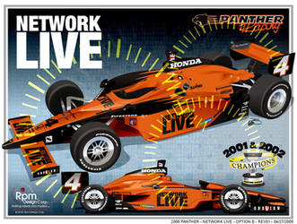 Panther Network Live indycar by RpmIndy