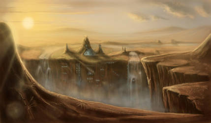 The Canion Village by doma22