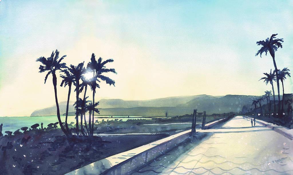 Promenade in Almeria by doma22