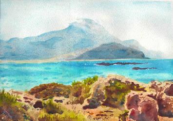 Balos Lagoon by doma22